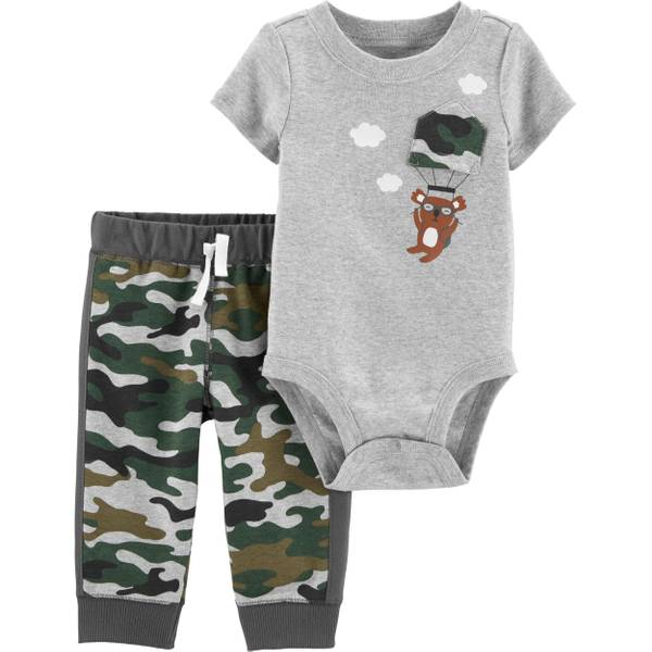 Carter's Infant Boy's 2-Piece Camo Koala Bodysuit Pant Set