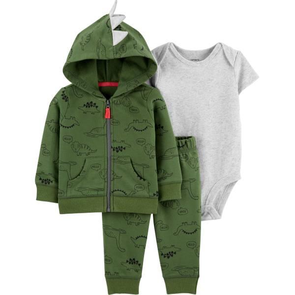 Photo of Infant Boy's 3-Piece Dinosaur Little Jacket Set