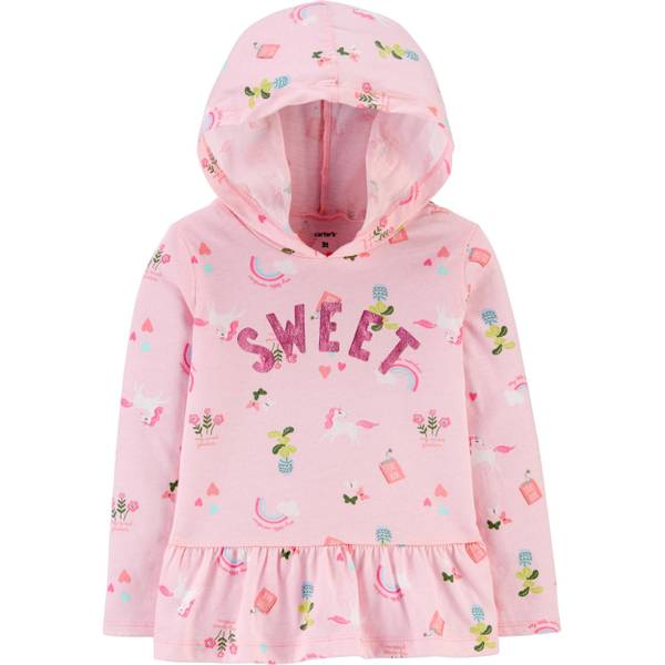 Photo of Toddler Girl's Sweet Hood Top