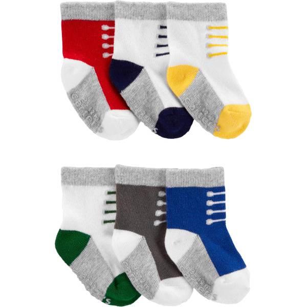 Pack of 3 Carters Boys Newborn Mix Patterns Socks