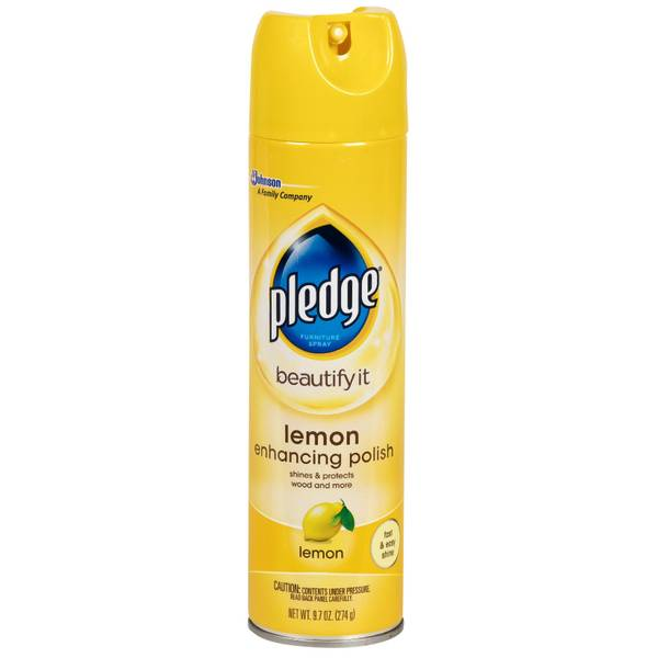 Pledge Wood Furniture Cleaning Spray