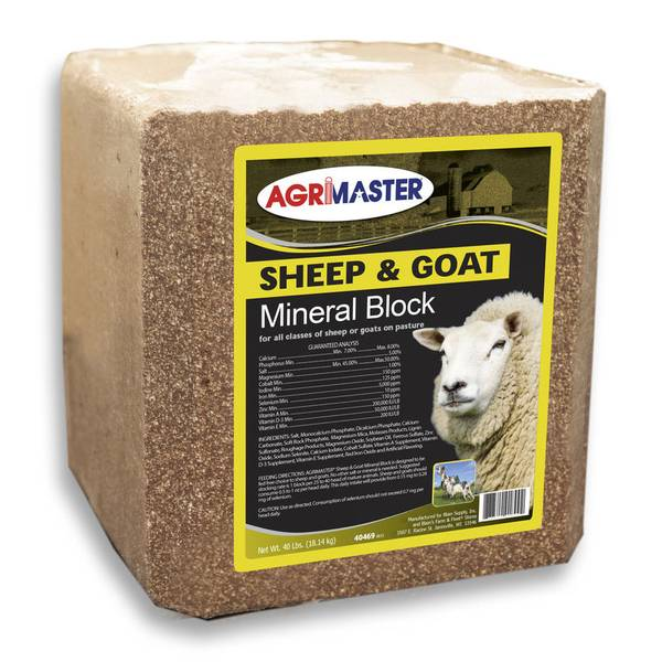 Sheep and Goat Mineral Block