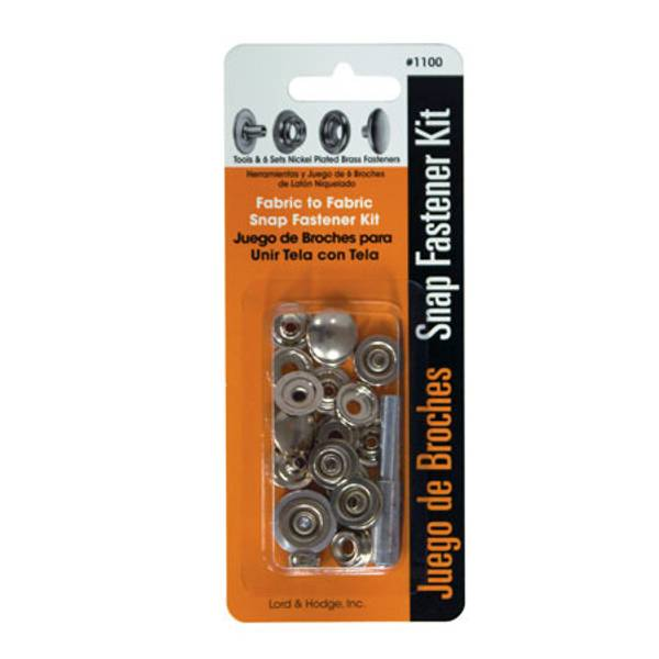 Fabric to Fabric Snap Fastener Kit
