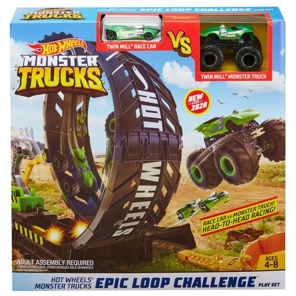 Hot Wheels Monster Trucks Epic Loop Challenge Gkt00 Blain S Farm Fleet