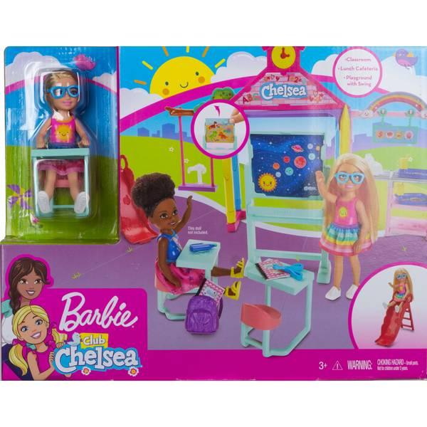 Barbie Club Chelsea School Playset Ghv80 Blain S Farm Fleet