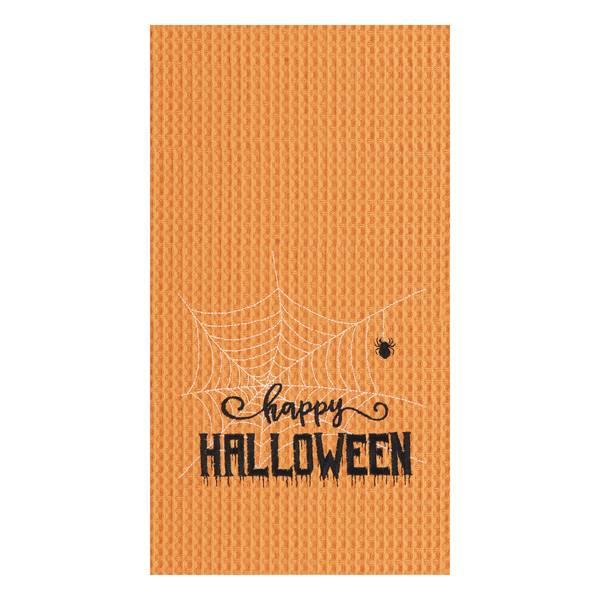 C and F Home Happy Halloween Web Towel