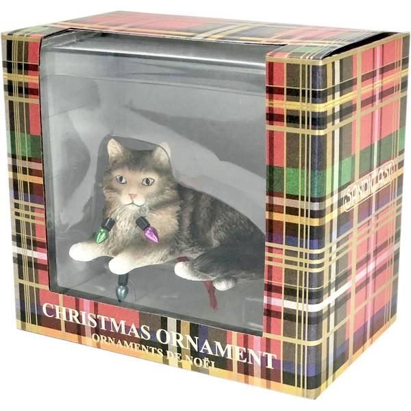 Sandicast Maine Coon Brown Tabby Cat Ornament Xso33901 Blain S Farm Fleet