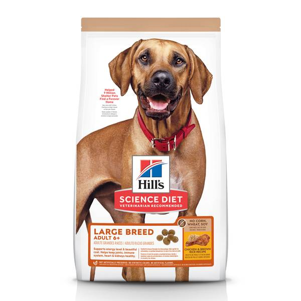 Hill S Science Diet 30 Lb Adult 6 Large Breed Chicken No Corn Wheat Or Soy Dry Dog Food 604940 Blain S Farm Fleet