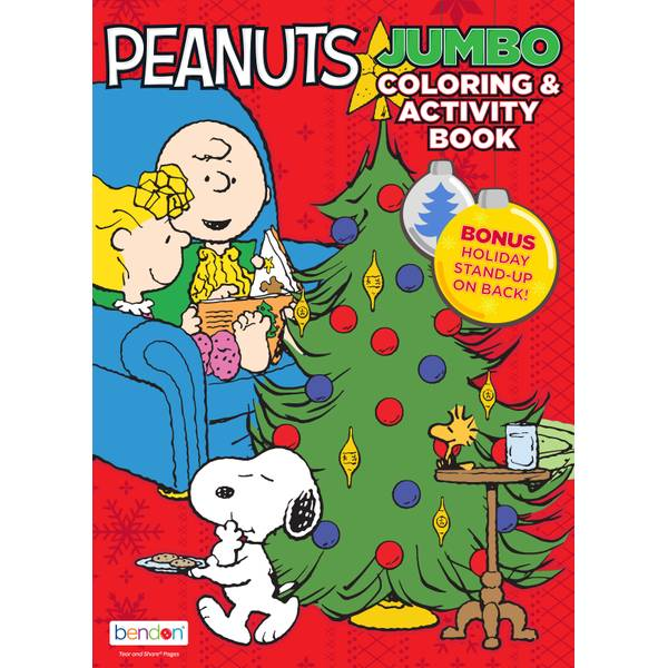 - Bendon Peanuts Jumbo Coloring Activity Book - 48257 Blain's Farm & Fleet