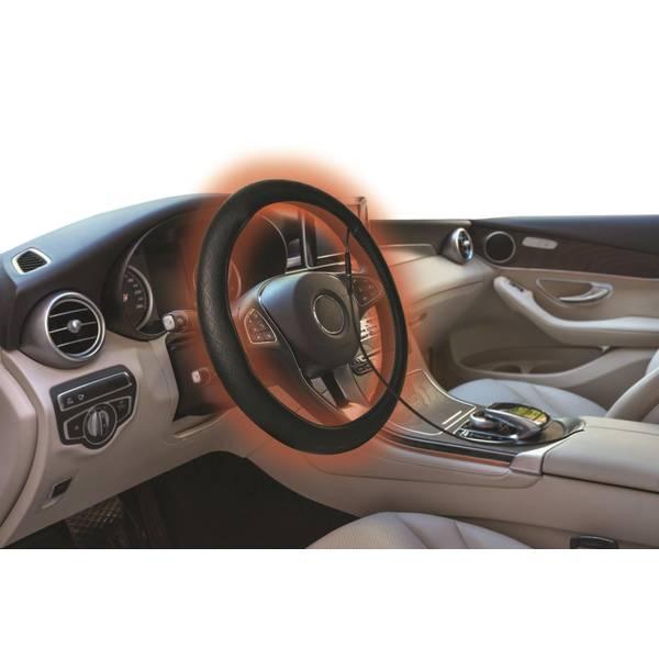 Monster Heated Steering Wheel Cover 3mnhe0133b1l2 Blain S Farm Fleet