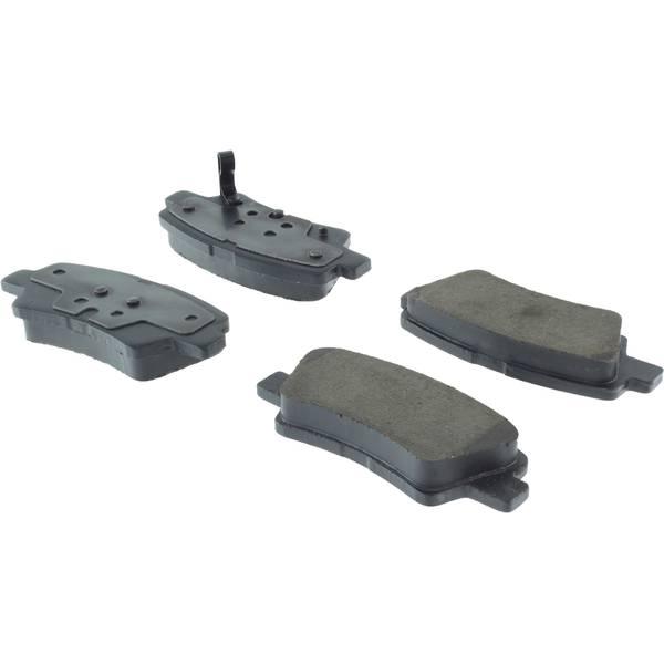 Centric Premium Ceramic Brake Pads with Shims