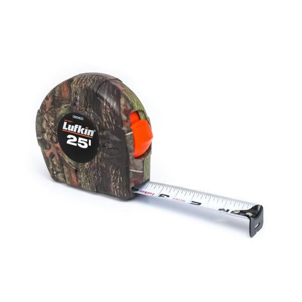 APEX TOOL GROUP LLC 25′ Lufkin Camo Tape Measure