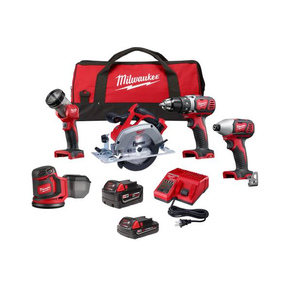 Milwaukee M18 5 Piece Combo Kit 2696 25 Blain S Farm Fleet