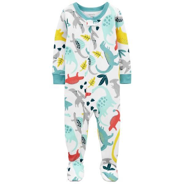 Kantenia Toddler Boys Pajamas Kids Dinosaur Truck 2 Piece Cotton Pjs Sets Long Sleeves Sleepwear Clothes Outfits Set