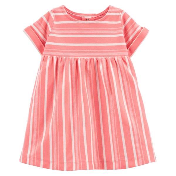 Photo of Infant Girl's Sleeveless Stripe Dress