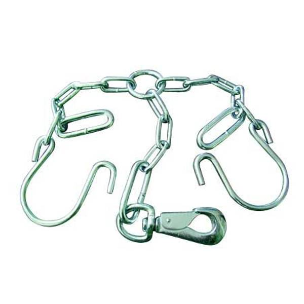 Heavy Duty Arch Tie Chain Assembly with Push - In - Snap