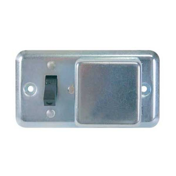 "2-1/4"" Box Cover Unit for Plug Fuses"