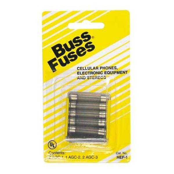 Mobile Phone, Electronic Equipment & Stereo Fuse Assortment