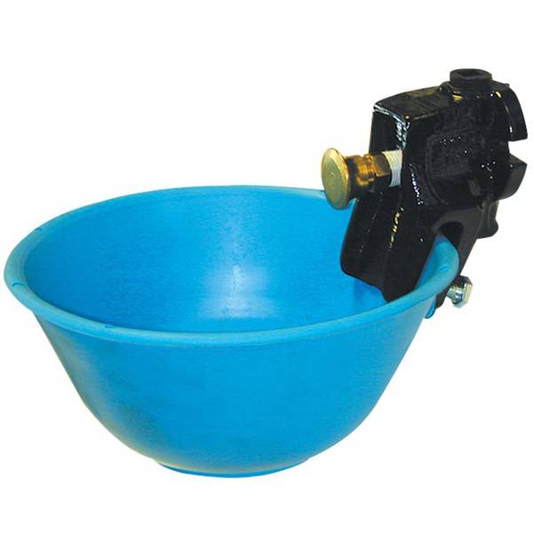 Push-Button Non-Siphon Watering Bowl