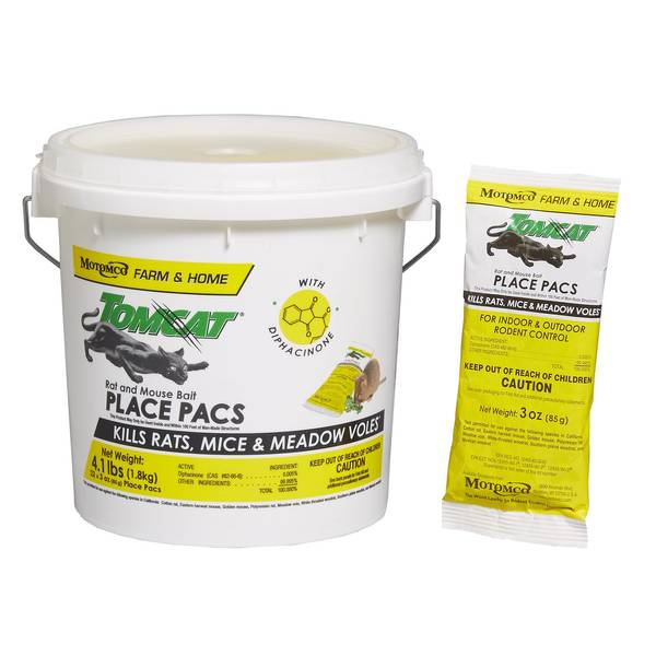 Rat and Mouse Bait Place Pacs