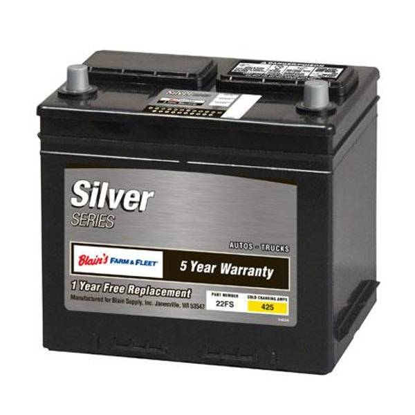 5-Year Silver Automotive Battery