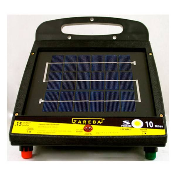 Zareba 10 Mile Solar Electric Fence Energizer