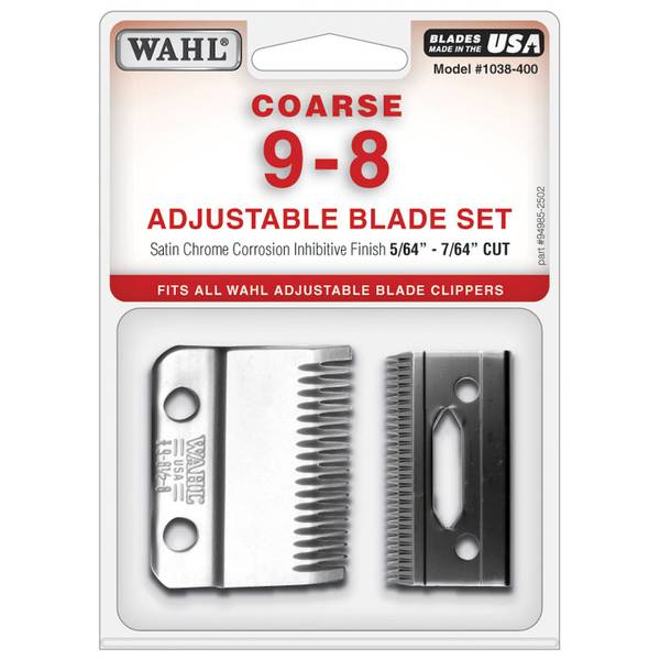 Adjustable Coarse Blade Set