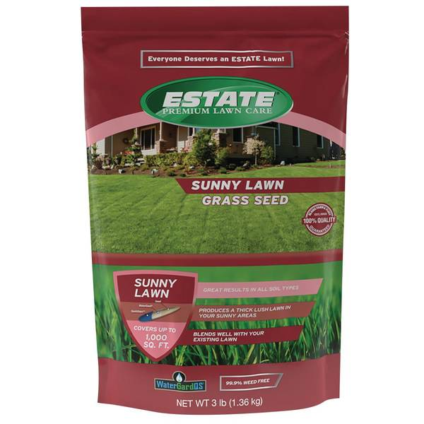 3 lb Premium Sunny Lawn Seed Mixture