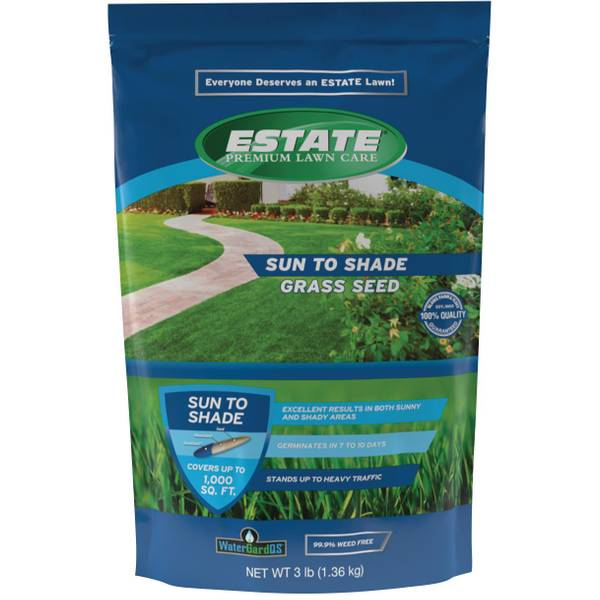 3 lb Premium Sun To Shade Lawn Seed Mixture
