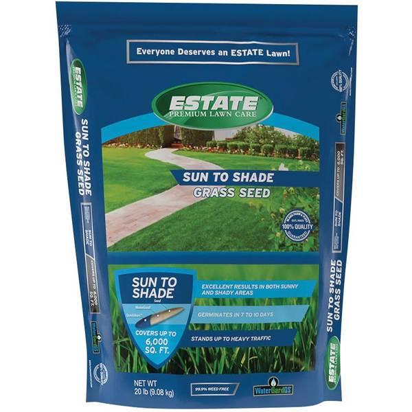 20 lb Premium Sun To Shade Lawn Seed Mixture