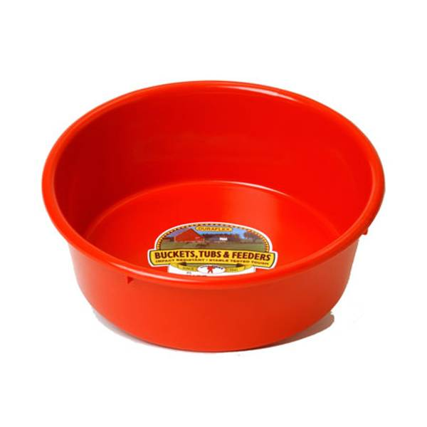 5 Quart DuraFlex Plastic Utility Feed Pan