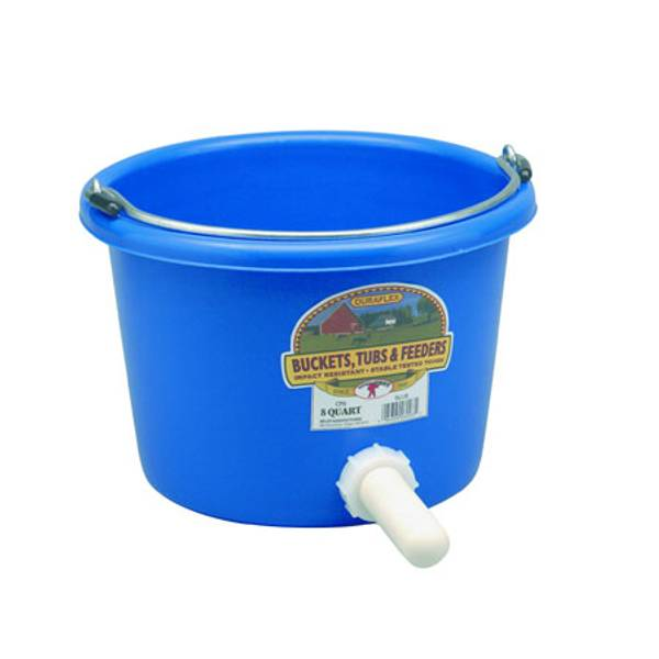 Calf Nursing Pail with Nipple Assembly