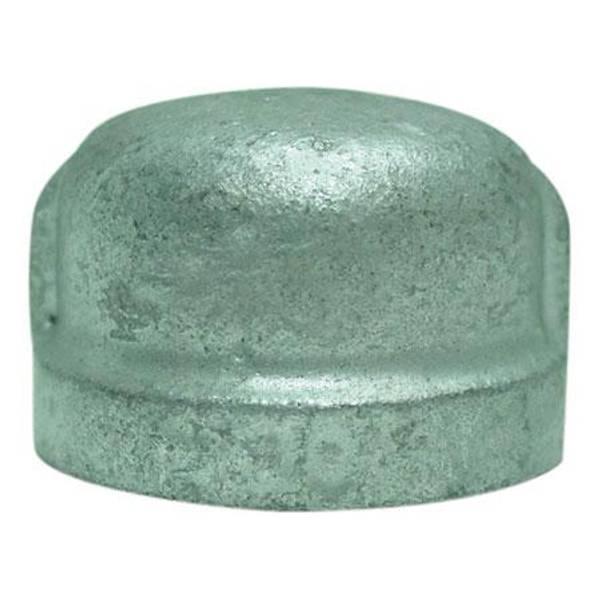 Jmf galvanized pipe cap