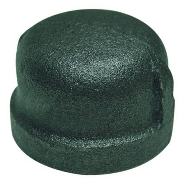 Black Pipe Cap
