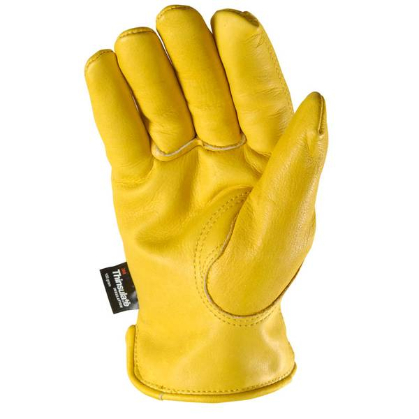 Men's Cold Weather Grain Cowhide Gloves