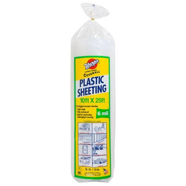 Extra Heavy Duty Plastic Sheeting
