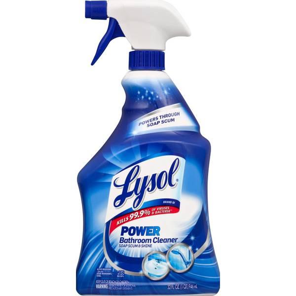 Lysol Bathroom Cleaner