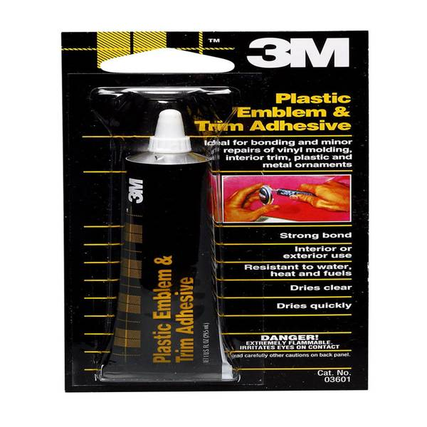 3m plastic emblem and trim adhesive - Restore car interior plastic trim ...