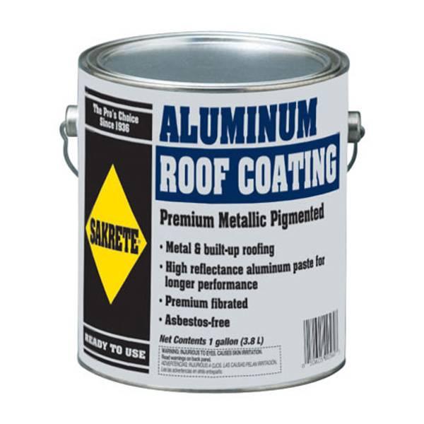 Sakrete Premium Metallic Pigmented Aluminum Roof Coating