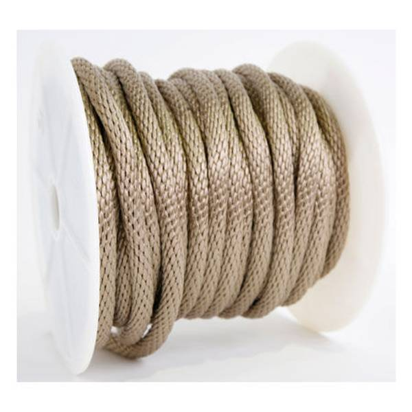"""Solid Braided Poly Rope 5/8"""", By The Foot"""