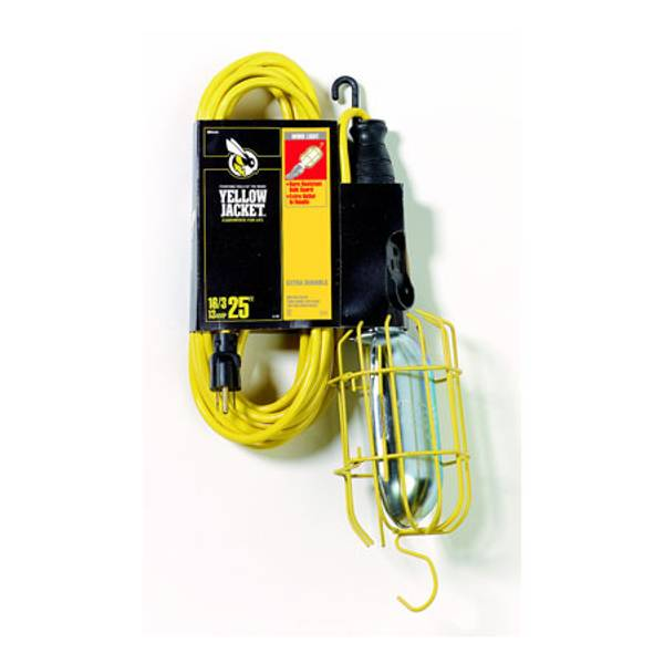 Work Light with Protective Guard