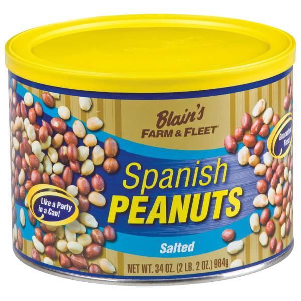 34 oz Spanish Peanuts Tin