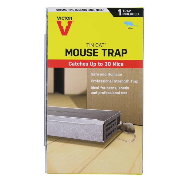 Tin Cat Repeating Mouse Trap