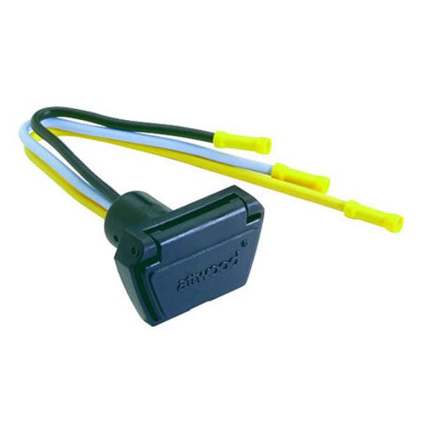 Attwood Marine Trolling Motor Connector 7648-7 Female Boat Side