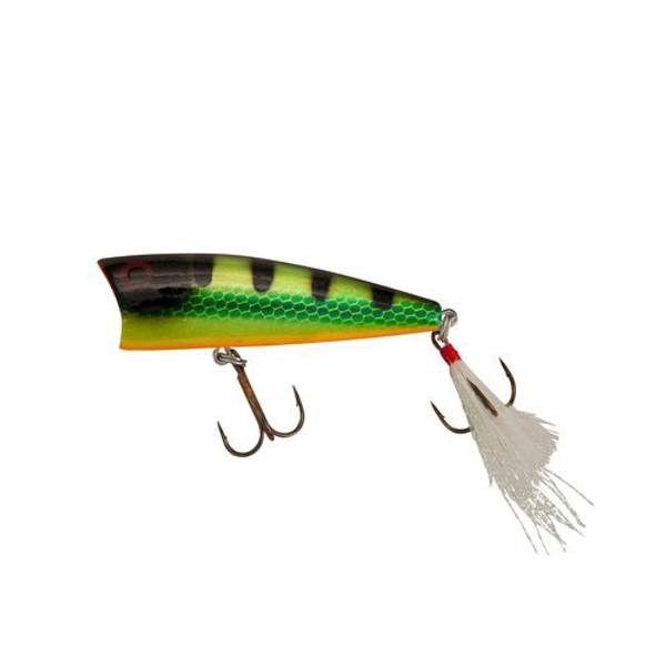 Rebel Red Eye Perch Pop-R Fishing Lure