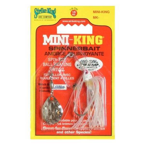 Strike King Mini-King White Spinnerbait