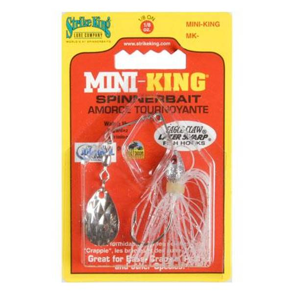 Strike King Mini-King Silver Spinnerbait