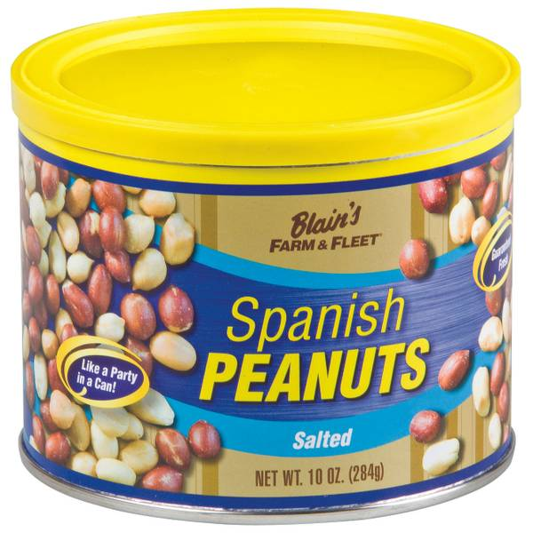 10 oz Peanut Tin
