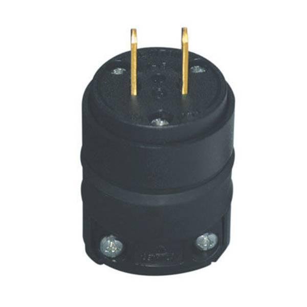 Non - Polarized Heavy Duty TPE Plug