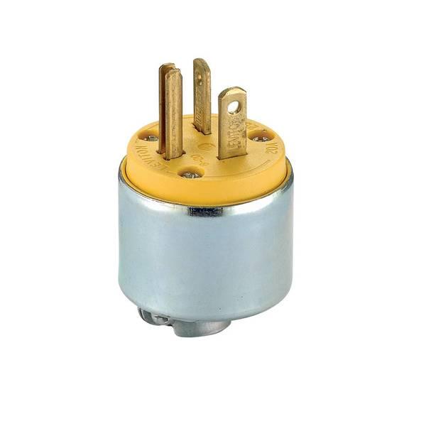 20 Amp Armored Grounding Plug
